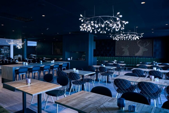 Fra restauranten på Quality Airport Hotel Gardermoen. (Foto: Nordic Choice Hotels)