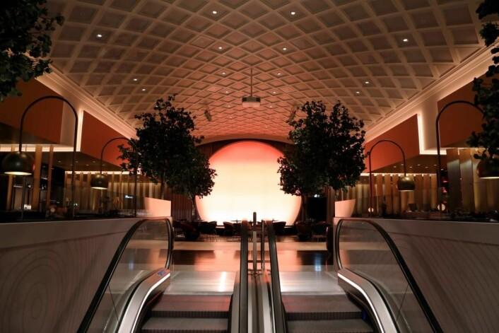 Lobbyen på nyrenoverte Hotel Norge by Scandic. (Foto: Hotel Norge by Scandic)