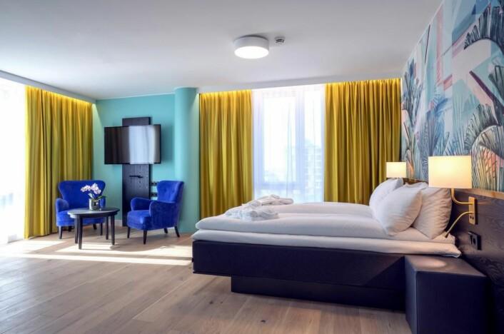 Thon Hotel Storo er et helt nytt hotell i Oslo. (Foto: Thon Hotels)