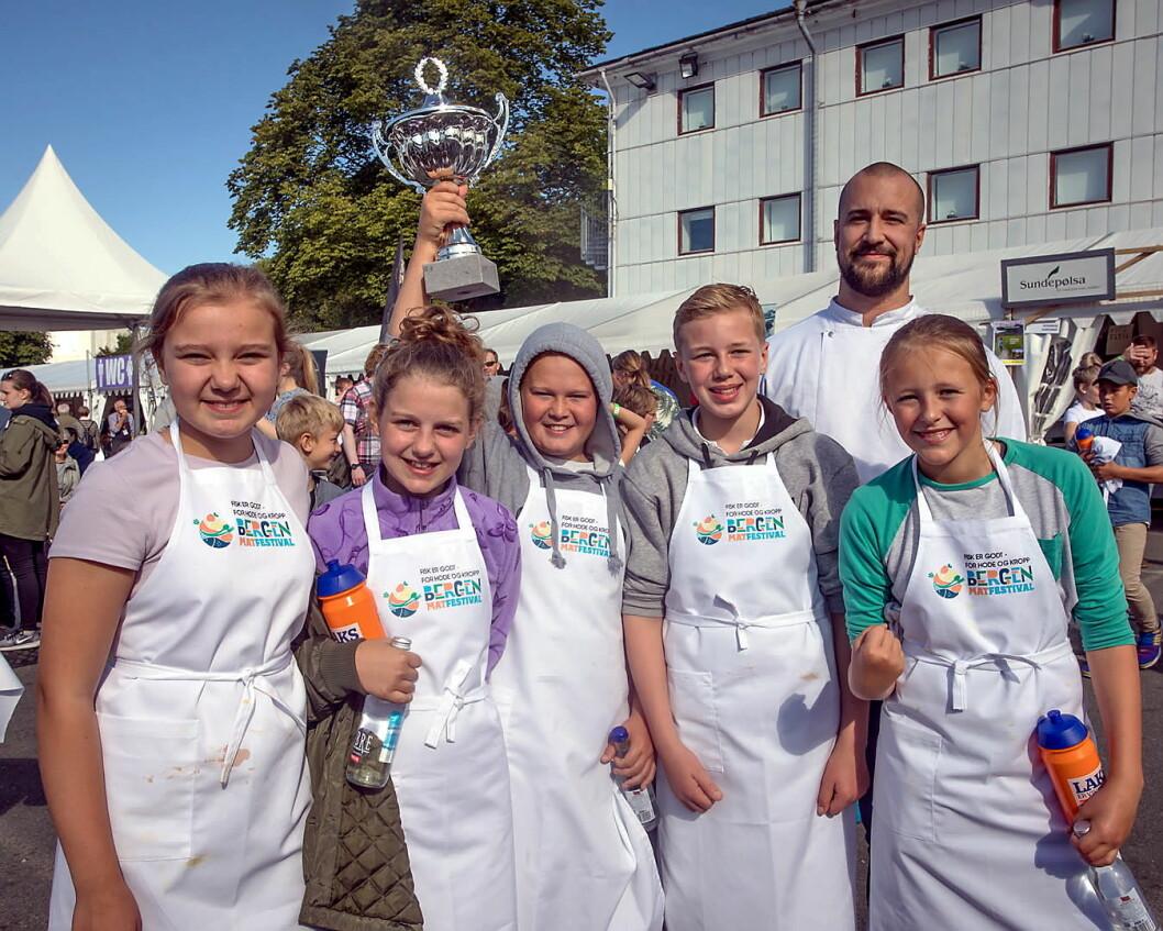 Bergen Matfestival arrangeres fra 31. august til 2. september. (Foto: Bergen Matfestival)