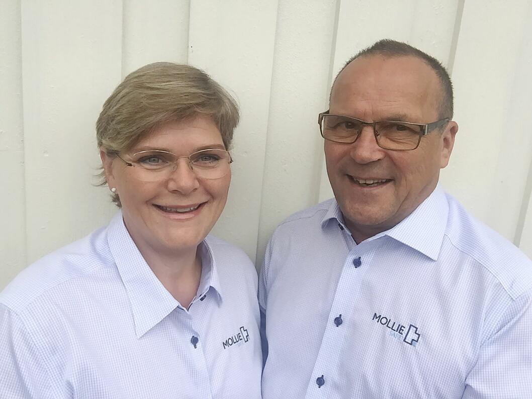 Gründerne, Eiri og Gunnvald Harila. (Foto: Molliesafe)