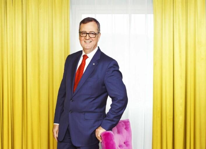– Lofoten er en viktig destinasjon for Thon Hotels, sier konserndirektør Morten Thorvaldsen. (Foto: Thon Hotels)