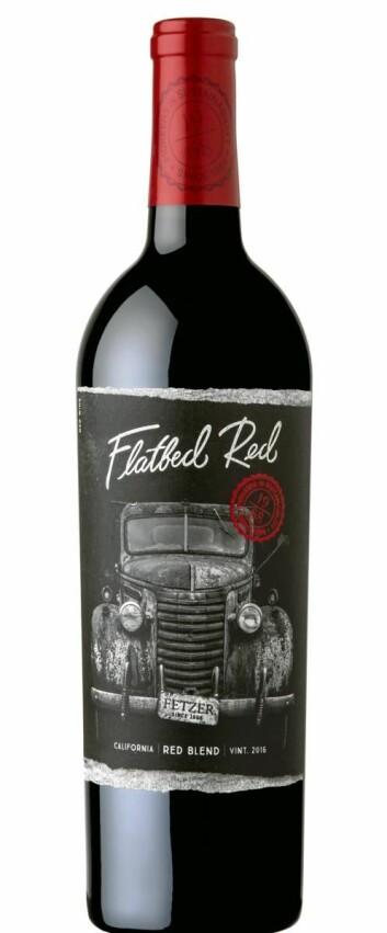 Fetzer Flatbed Red.