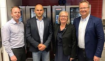 Domstein og Engrosfrukt støtter Norsk Restaurantskole