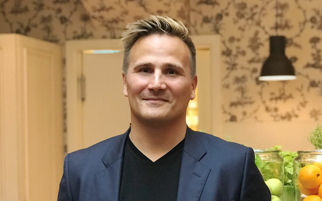 Ørjan Lundmark blir ny F&B-direktør på Amerikalinjen i Oslo. (Foto: Nordic Hotels & Resorts)