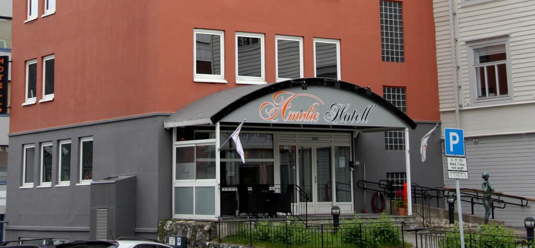 Amalie Hotel i Tromsø blir et Best Western-hotell. (Foto: Morten Holt)