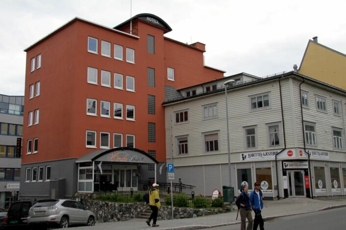 Amalie Hotel. (Foto: Morten Holt)