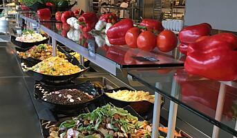 De mest populære grønnsakene i salatbaren