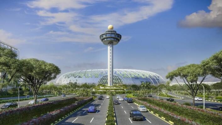 Jewel Changi Airport i Singapore.