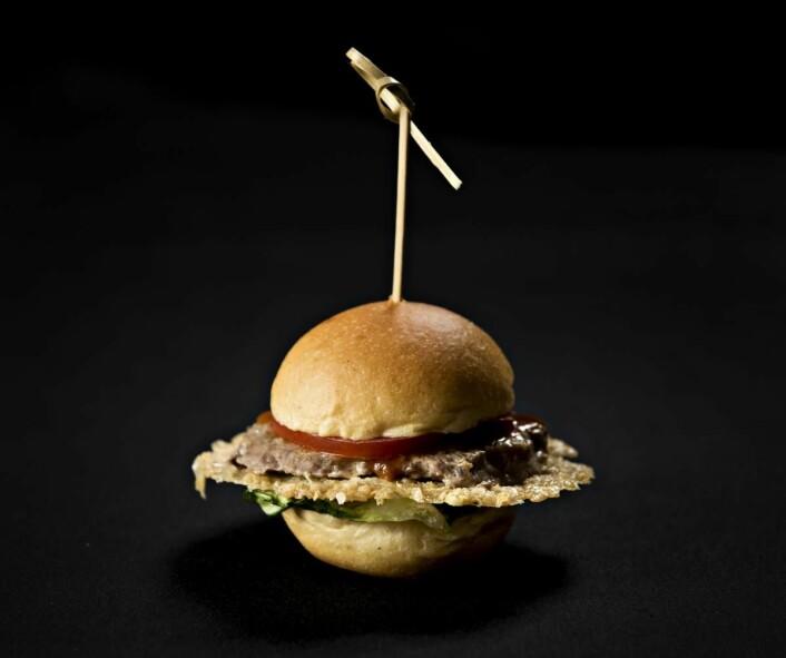 Det norske lagets saturnburger var innertier på temaet «universet». (Foto: Jon-Are Berg-Jacobsen, Vest Vind Media)