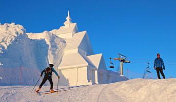 Beitostølen rigger seg for snøskulptur-festival