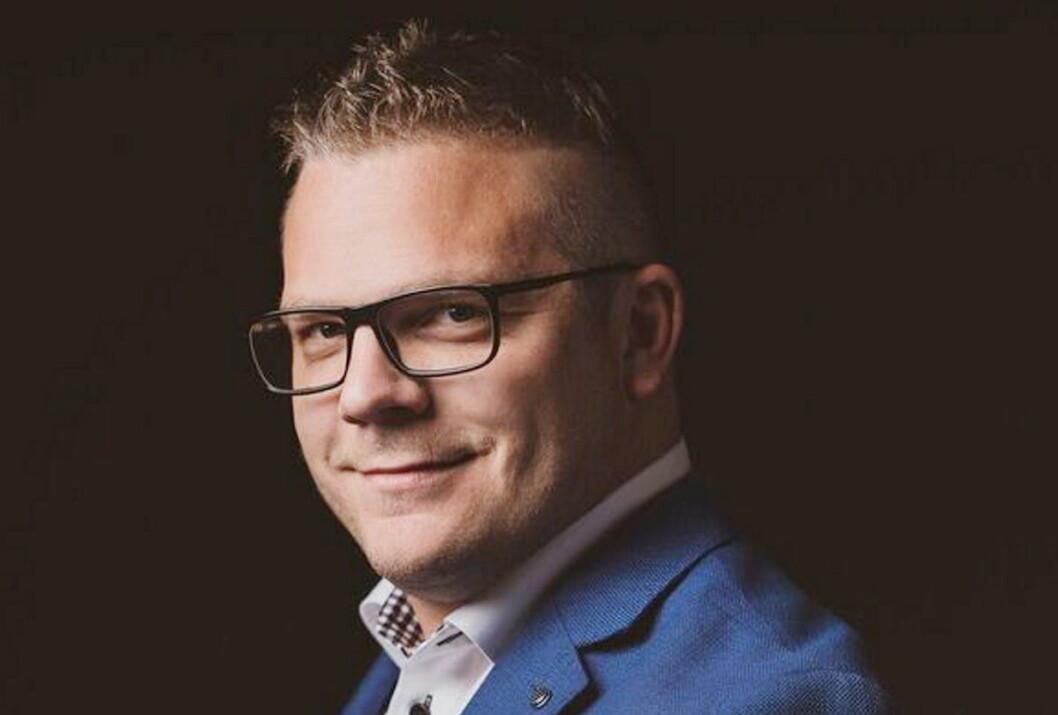 Svein Martin Berg Krogstad. (Foto: Fotograf Hattrem)
