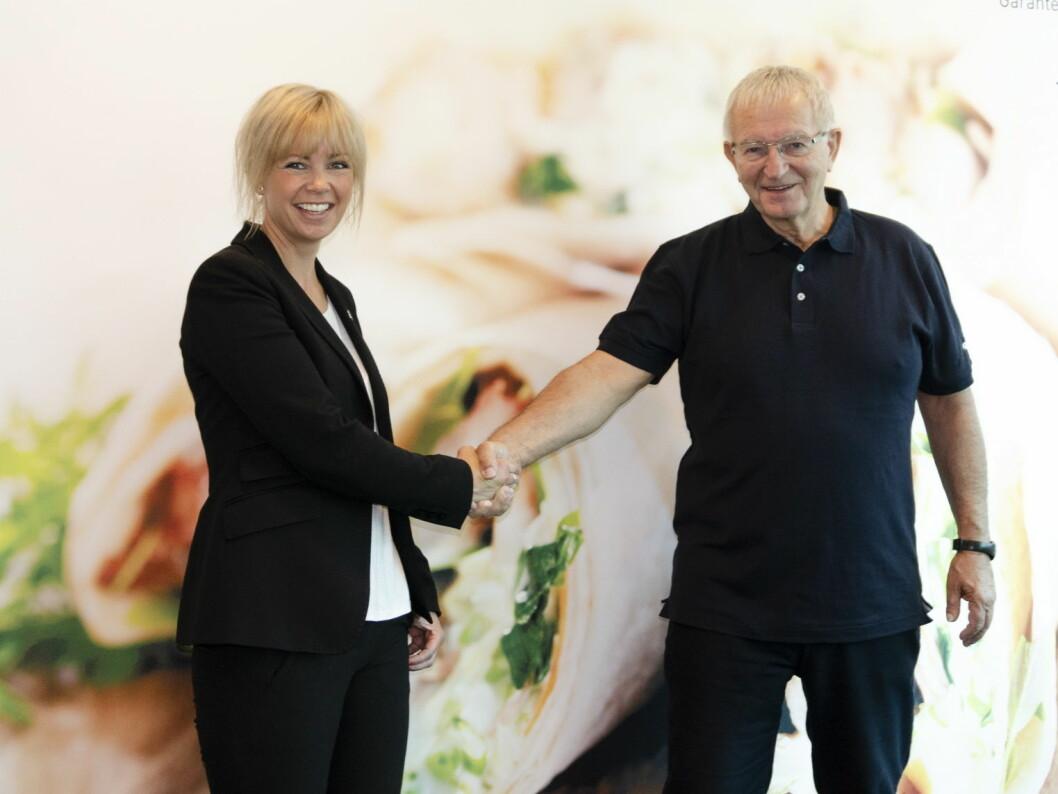 Guro Espeland tar over som daglig leder i Jæder Ådne Espeland etter faren Noralf. Dette er det fjerde generasjonsskiftet i familiebedriften. (Foto: Jæder)