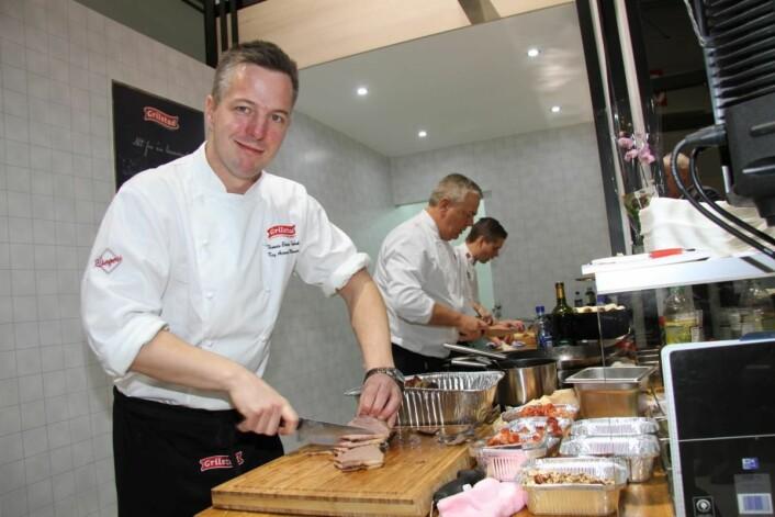 Thomas Ekenes-Fosback er kaptein på tidenes første kokkelandslag i Community Catering. (Foto: Morten Holt)