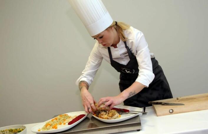 Anita H. Stene er manager for det norske Community Catering-landslaget. (Foto: Morten Holt)