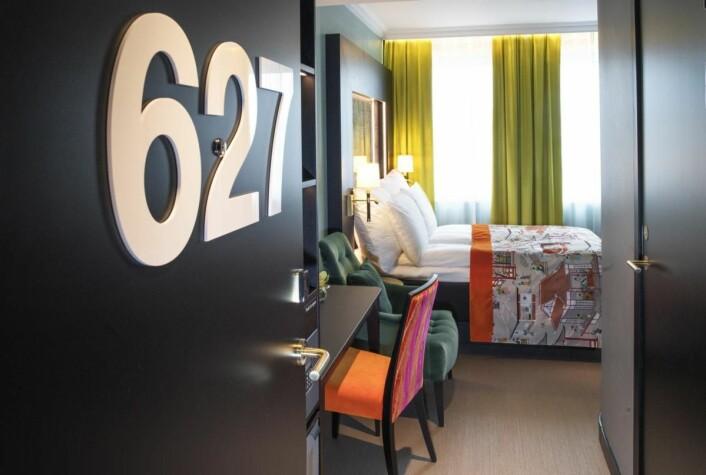 Thon Hotel Stavanger har 147 rom. (Foto: Thonhotels.no)