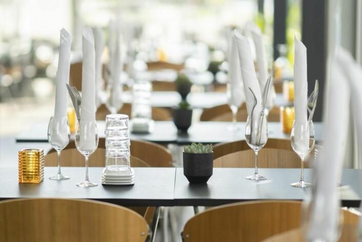 Bølgen & Moi har også lokaler i 2. etasje, som er tilpasset arrangementer som konfirmasjon, julebord, møter og bryllup. (Foto: Bølgen & Moi)