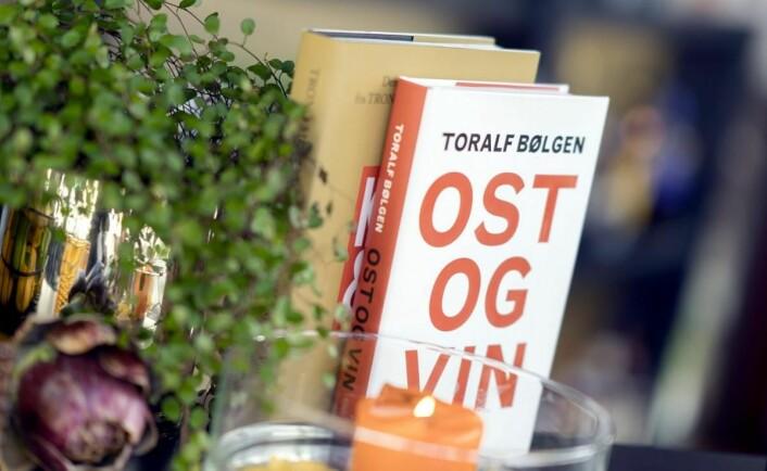 Toralf Bølgen står bak en rekke bøker om vinens fortreffeligheter. (Foto: Bølgen & Moi)