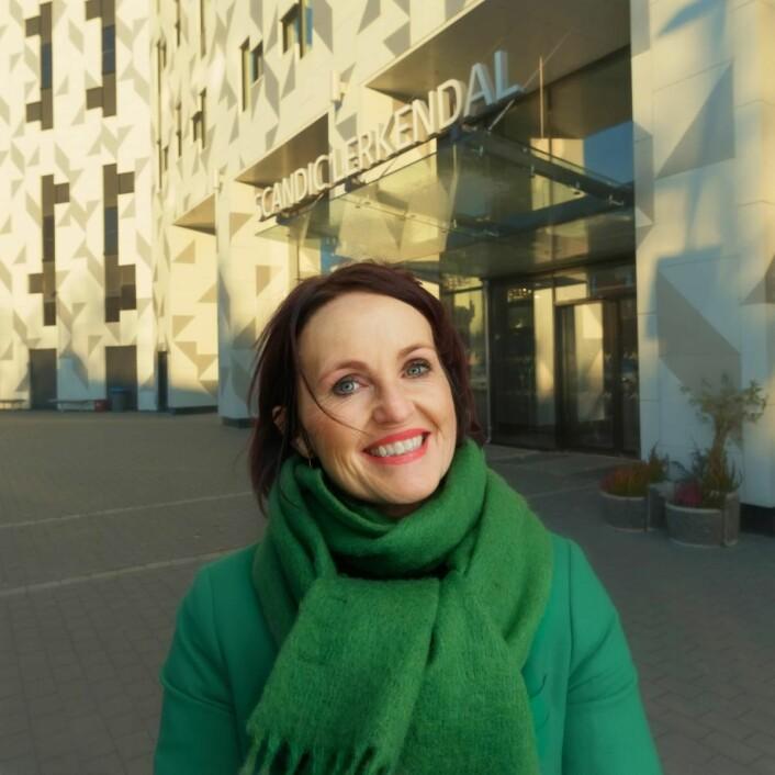 Line Vikrem-Rosmæl blir ny distriktsdirektør med ansvar for blant annet Trondheim-hotellene. (Foto: Scandic Hotels)