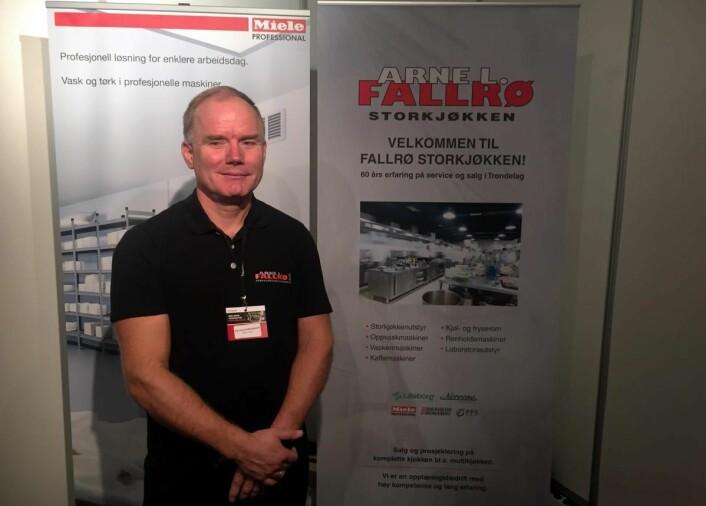 Baard Fallrø fra Arne L. Fallrø AS. (Foto: Arne Dalseng)