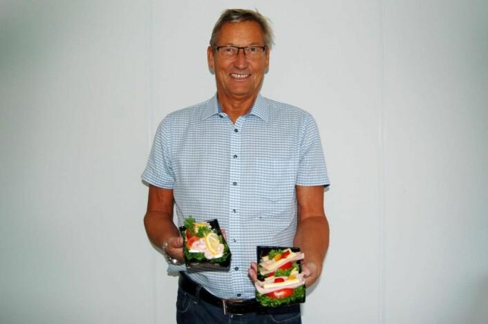 Kjell Helge Korsnes og MP Storkjøkken har utviklet et baguettesystem som sørger for bedre holdbarhet og mindre matsvinn. (Foto: MP Storkjøkken)