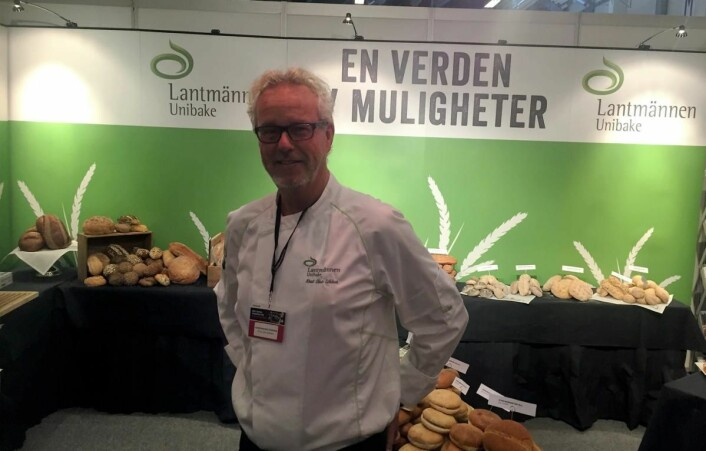 Knut Olav Løkken hos Lantmännen Unibake AS. (Foto: Arne Dalseng)