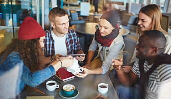 Flere amerikanere drikker kaffe