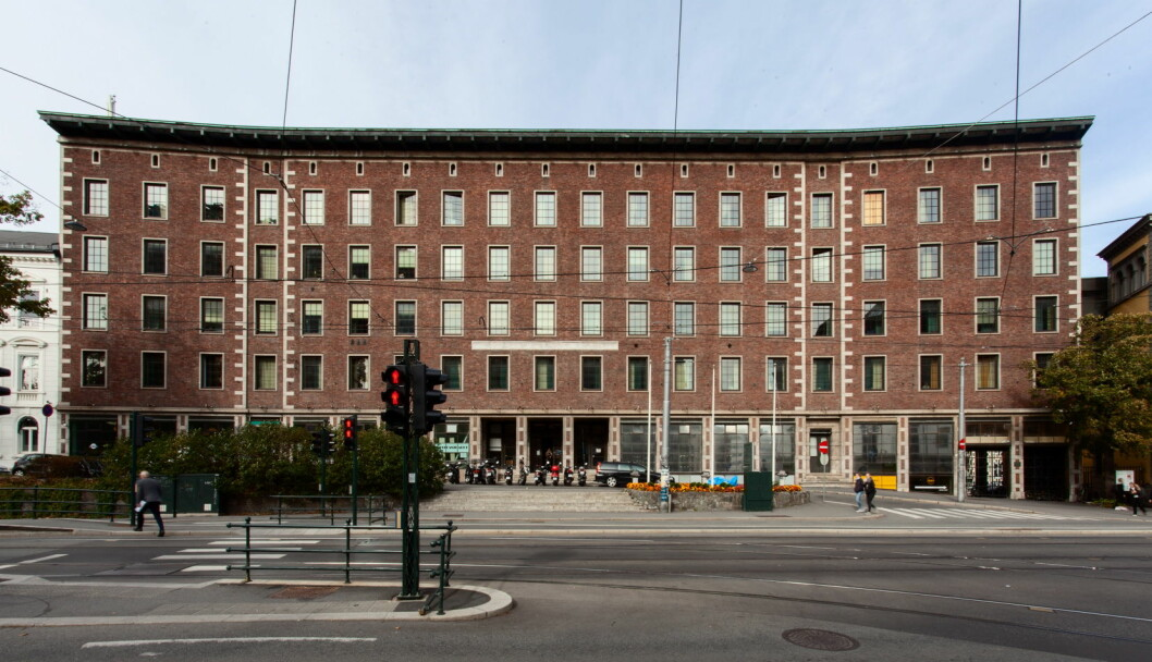 Hotellet Sommerro på Solli plass. (Foto: Chris Aadland)