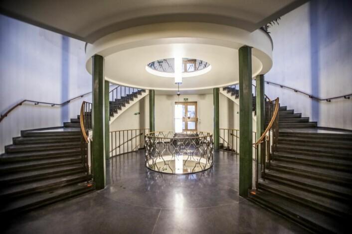 Lobbyen er spektakulær i det gamle Oslo Lysverker-bygget, og vil bli bevart. (Foto: Roberto di Trani)