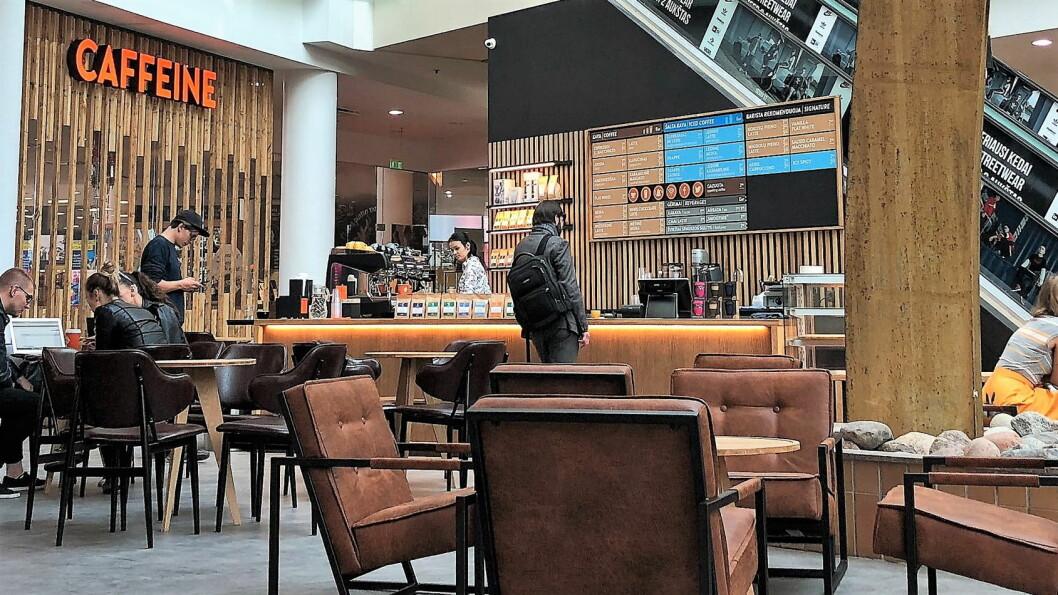 Reitan Convenience kjøper 60 kaffebarer i Baltikum. (Foto: Reitan Convenience)