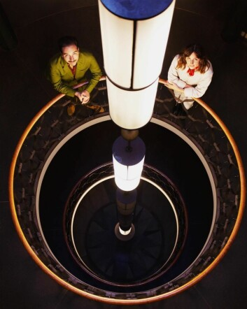 GrecoDeco, Alice Lund og Adam Greco, skal innrede hotellet Sommerro. (Foto: Chris Aadland)