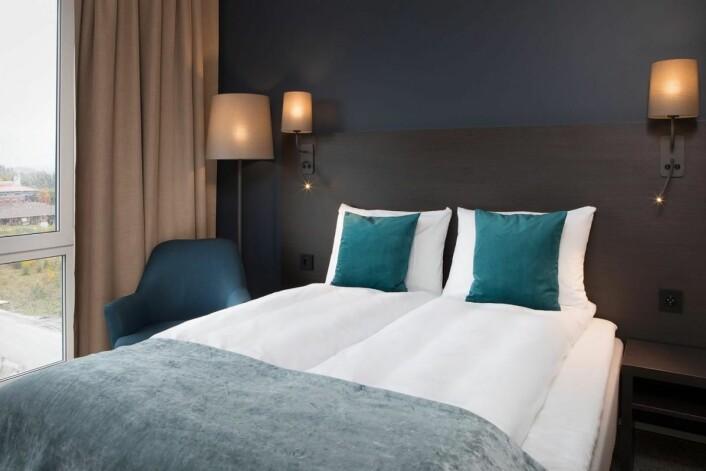 100 rom på Scandic Brennemoen. (Foto: Scandic Hotels)