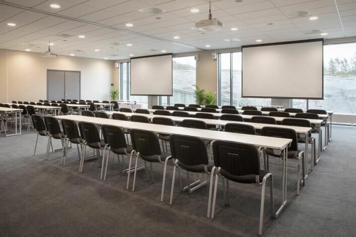 Moderne konferansefasliteter på Scandic Brennemoen. (Foto: Scandic Hotels)