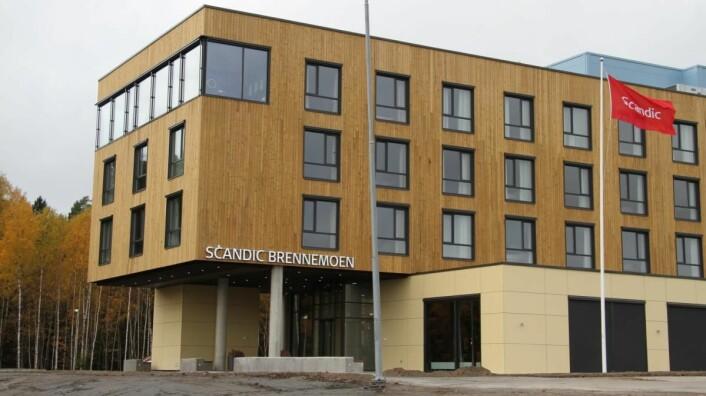 Scandic Brennemoen. (Foto: Morten Holt)