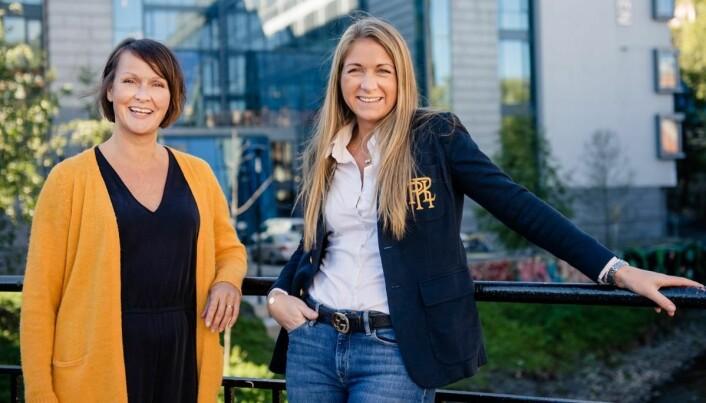 Sølvi Anne Erstad (til venstre) og Benedicte Grevstad er begge nyansatt i Get Together. (Foto: Get Together)