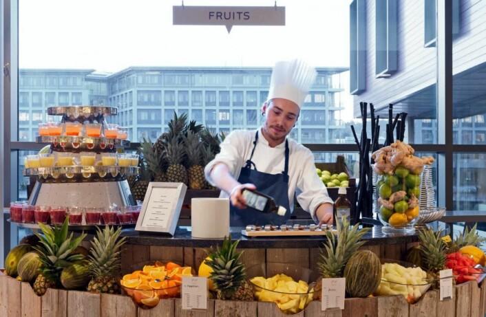 Nok et frokostgull til Scandic Nidelven. (Foto: Scandic Hotels)