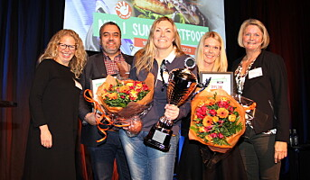 Norgesmester i sunn fastfood 2018