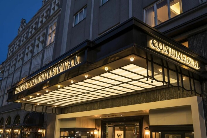 Hotel Continental er stemt frem som de tredje beste hotellet i Nord-Europa. (Foto: Hotel Contental)