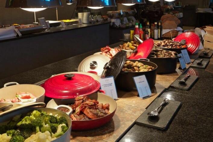 Scandic Nidelvens frokost til topps. (Foto: Morten Holt)