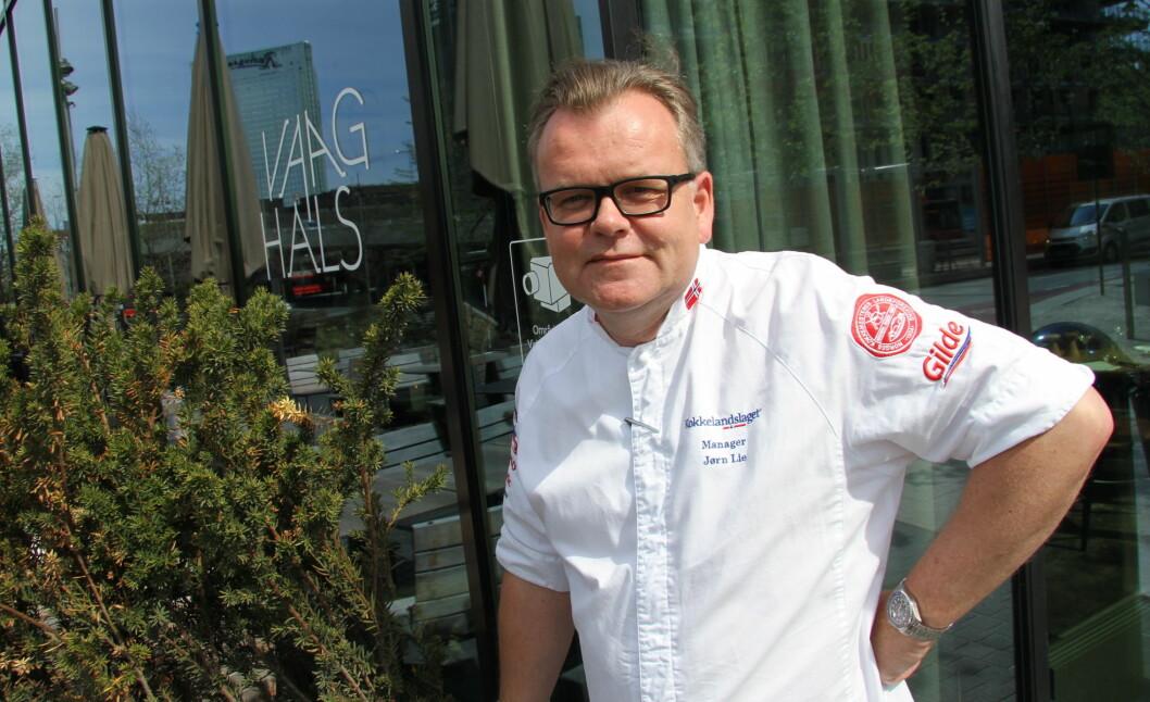 Jørn Lie sitter i juryen som skal plukket ut tre nominerte til Årets bondelagskokk 2019. (Foto: Morten Holt)