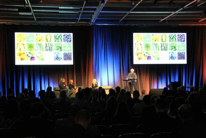 Seminarene på Foodscape samlet mange mennesker. (Foto: Morten Holt)