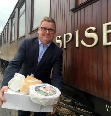 Bernt Bucher-Johannessen er daglig leder i Hanen, som er hovedarrangør for oste-VM i begynnelsen av november. (Foo: Hanen)