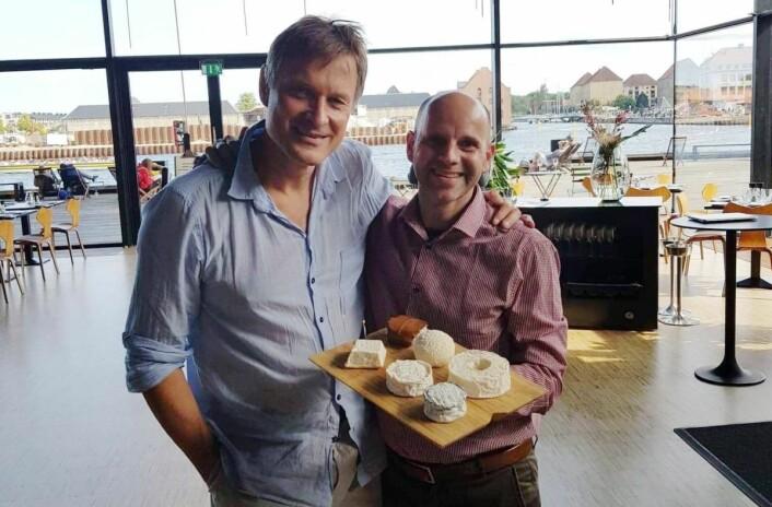 Bo Jensen og Claus Meyer. (Foto: Privat)