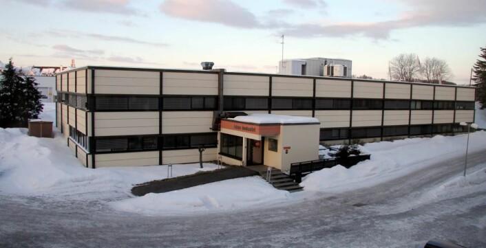 Idun Industris lokaler på Skjetten. (Foto: Morten Holt)