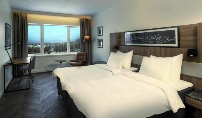 Du finner 185 rom på Radisson Blu Hotel Nydalen. (Foto: Radisson Hotel Group)