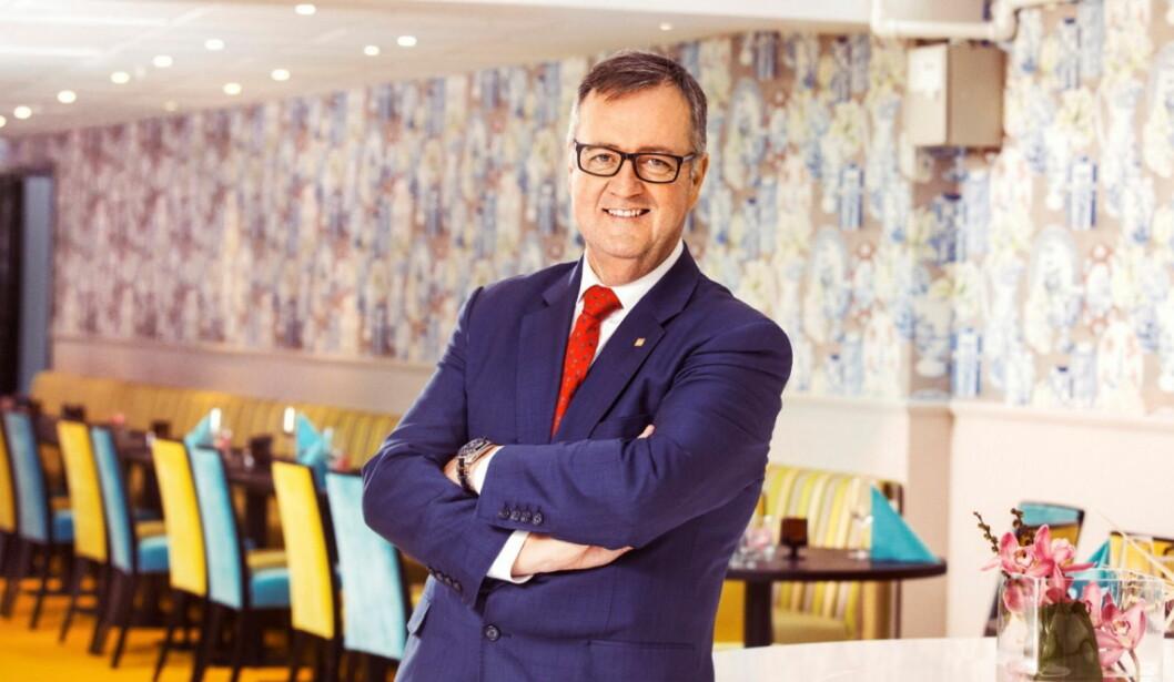 Morten Thorvaldsen tar plass i HOTREC-styret. (Foto: Thon Hotels)