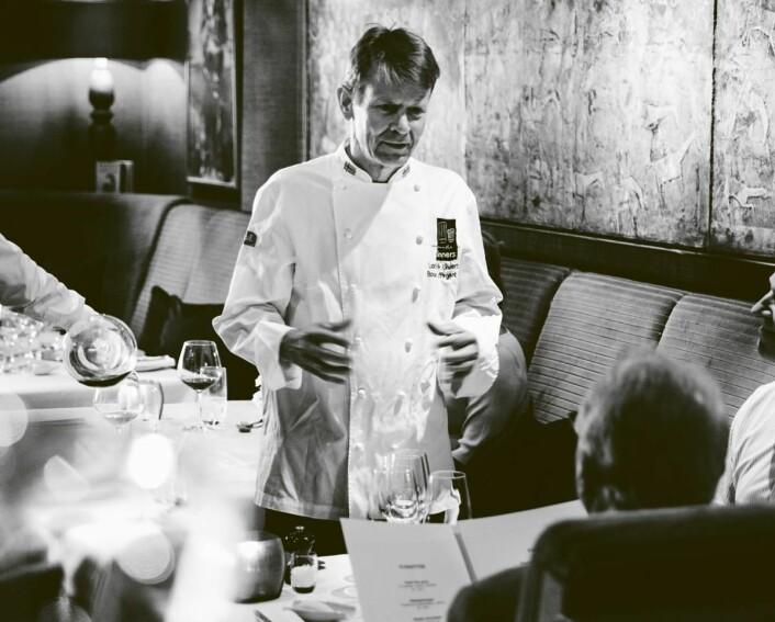 Lars Erik Underthun er en av Norges mest meritterte kokker. (Foto: Feinschmecker)