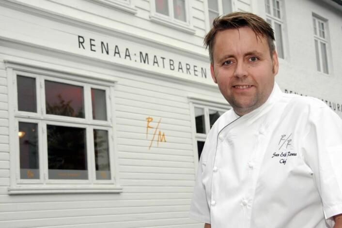 Sven Erik Renaa, som er den første kokken utenfor Oslo i Norge med Michelin-stjerne, var Norges Bocuse d'Or-deltaker i 2007. (Foto: Morten Holt)