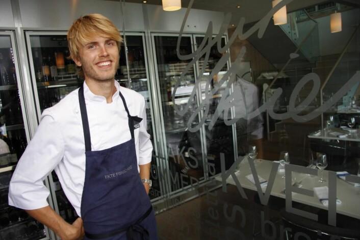 Geir Skeie vant Bocuse d'Or Europe i 2008 og Bocuse d'Or i 2009. (Foto: Morten Holt)