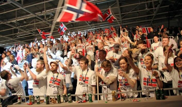 Det har vært mye norsk jubel i Bocuse d'Or-konkurransene gjennom tidene. (Foto: Morten Holt)